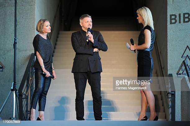 General Manager Porsche Design Women Heidi Otto Creative Director Adidas Sport Style Division Dirk Schoenberger and Britta Hofmann attend Porsche...