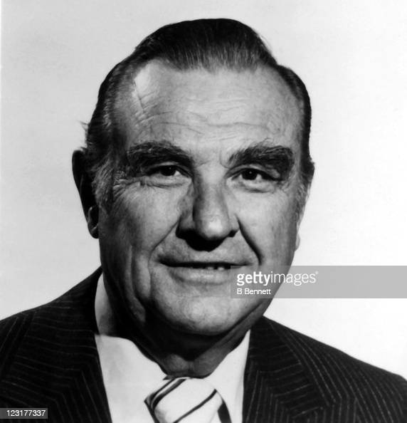 General manager Rudy Pilous of the Winnipeg Jets poses for a portrait in September 1978 in Winnipeg Manitoba Canada