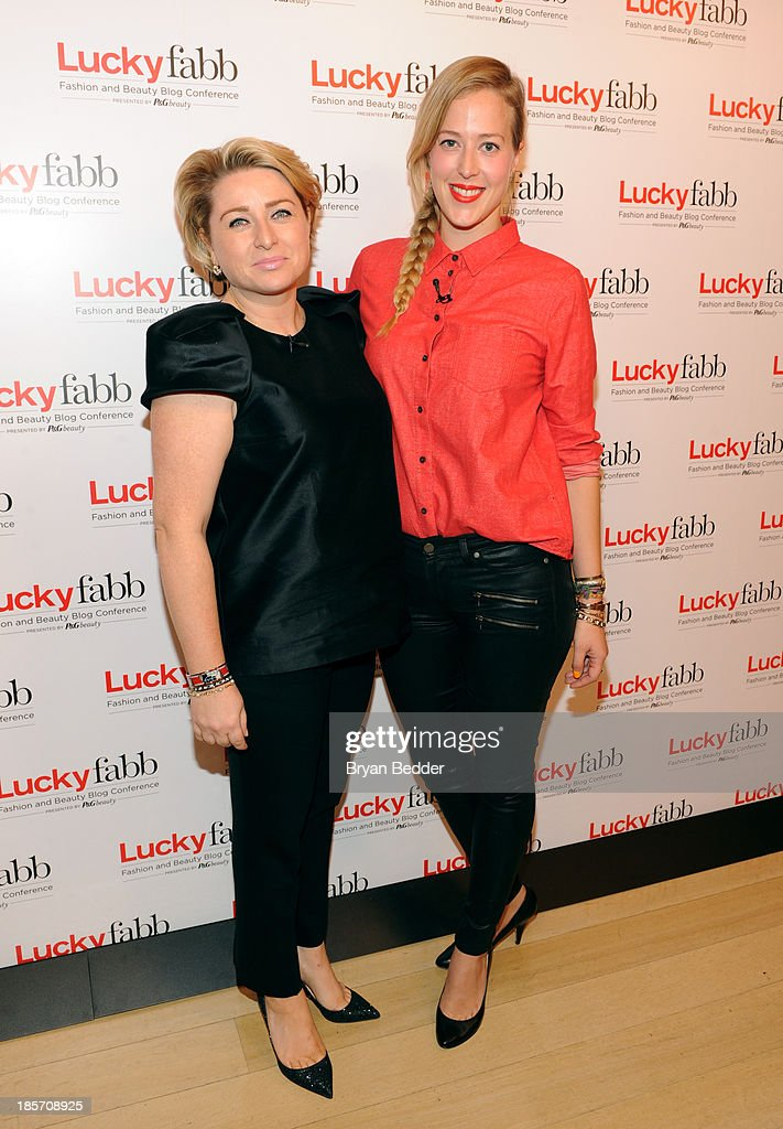 General Manager, SVP at Lucky Magazine Gillian Gorman Round and Executive Digital Editor, Luckymag.com Verena von Pfetten attend Lucky Magazine's Two-Day East Coast