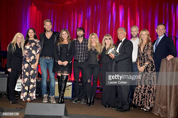 BMI VP General Manager Writer/Publisher Relations Barbara Cane singersongwriters Vanessa Carlton Charles Kelley Hillary Scott and Dave Haywood of...
