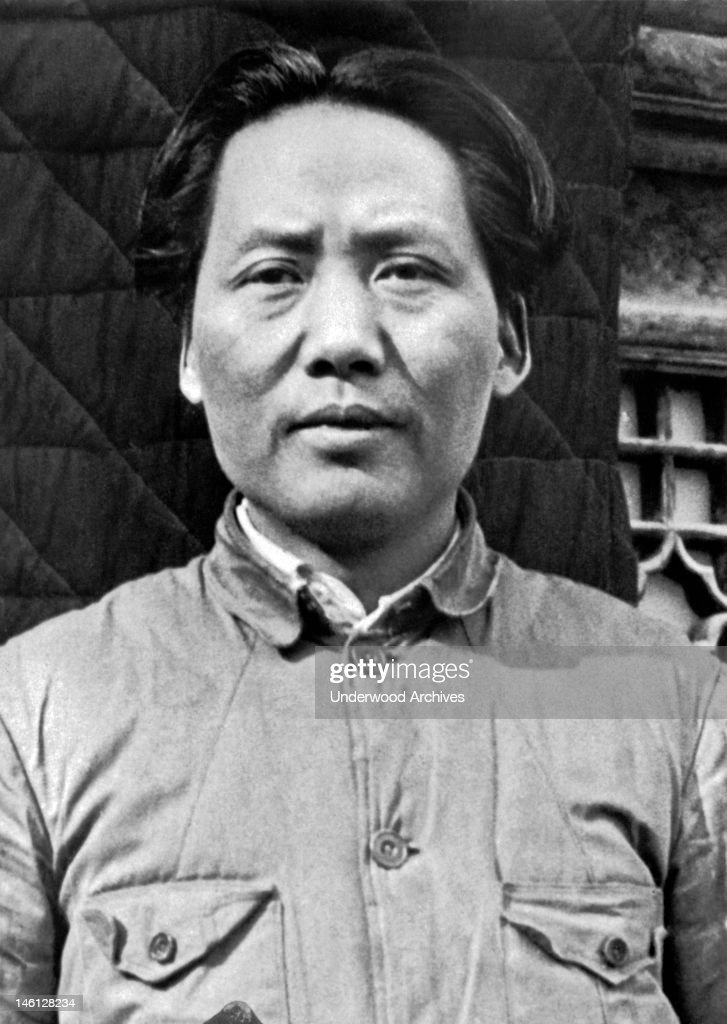 General <a gi-track='captionPersonalityLinkClicked' href=/galleries/search?phrase=Mao+Tse-Tung&family=editorial&specificpeople=77863 ng-click='$event.stopPropagation()'>Mao Tse-Tung</a>, now one of Generalissimo Chiang Kai-Shek's most valuable lieutenants, China, March 7, 1938.