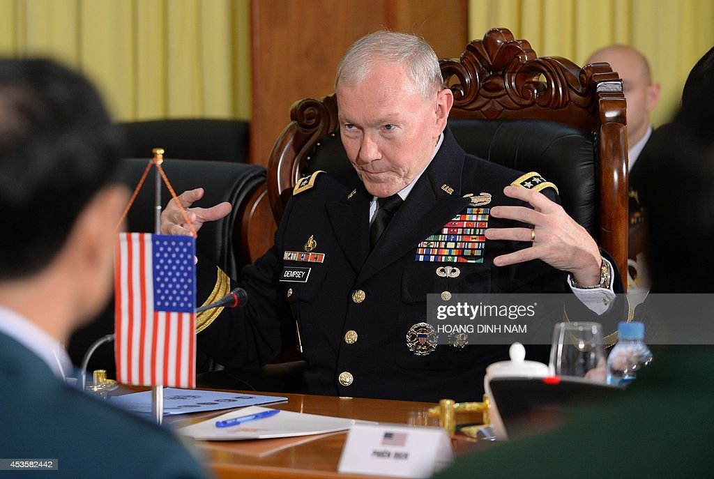 Martin dempsey getty images for Chair joint chiefs of staff