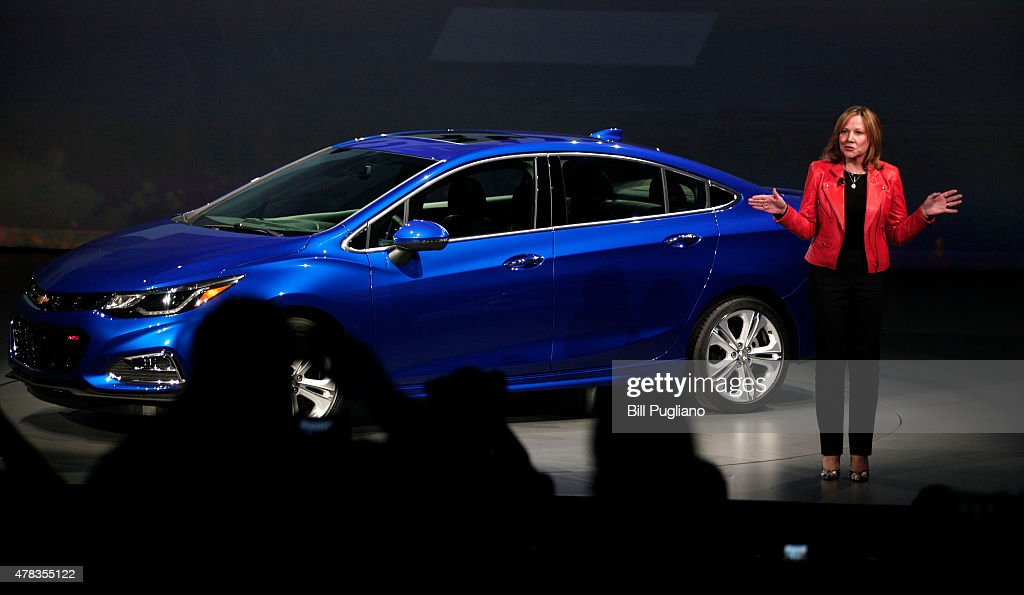 General Motors Ceo Mary Barra Reveals The New Gm 2016