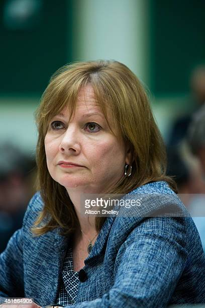 General Motors CEO Mary Barra testifies before the full House Energy and Commerce hearing room in a hearing entitled 'The GM Ignition Switch Recall...