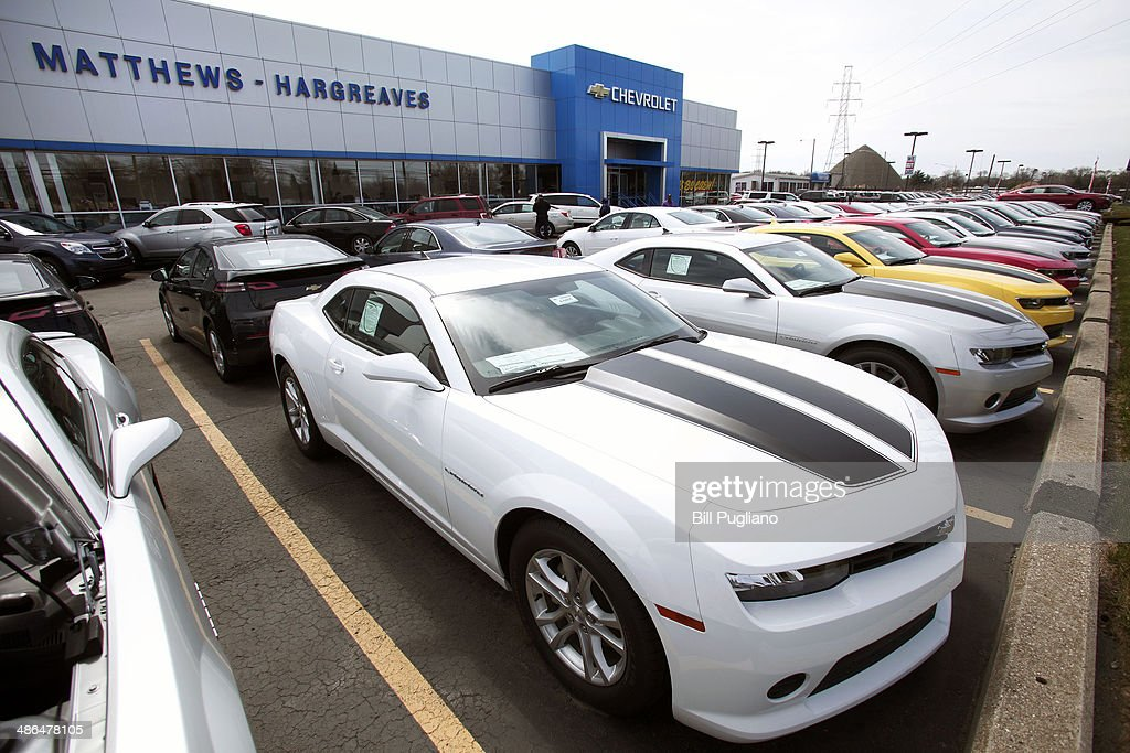 General Motors Chevrolet dealership is shown April 24 2014 in Royal Oak Michigan Today GM reported its first quarter profits dropped nearly 86% from...