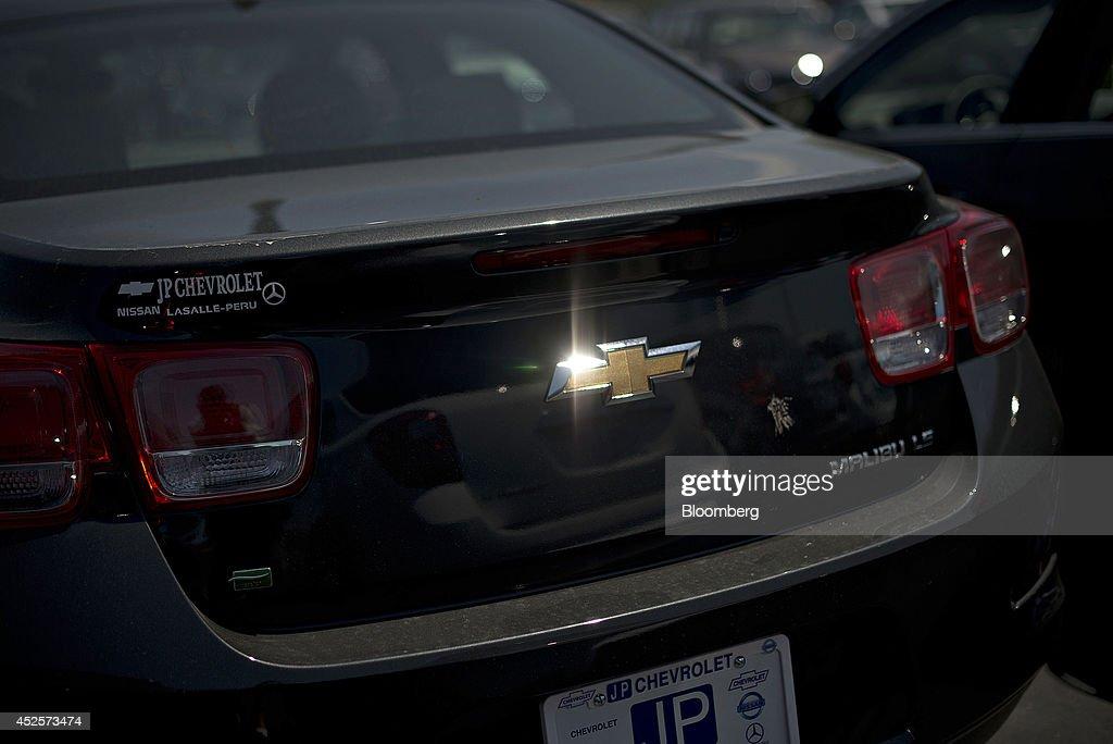 A General Motors Co Car Dealership Ahead Of Earnings
