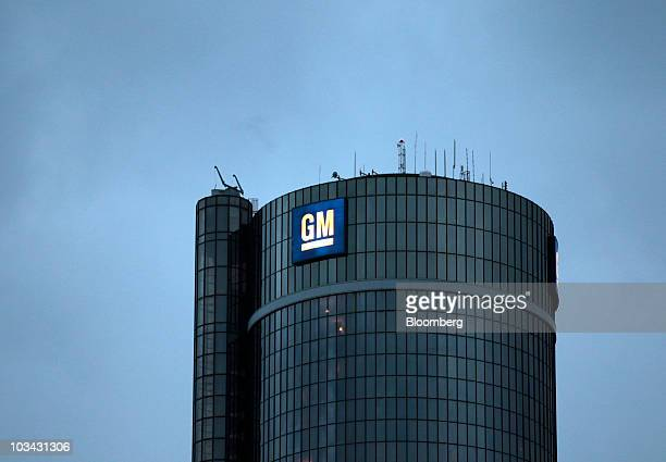 General Motors Co world headquarters stands in Detroit Michigan US on Wednesday Aug 18 2010 General Motors Co may sell preferred stock alongside its...