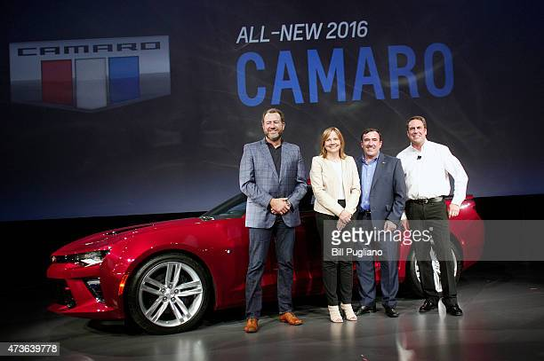 General Motors President Dan Ammann CEO Mary Barra Alan Batey GM Executive Vice President and President North America and Mark Reuss Executive Vice...