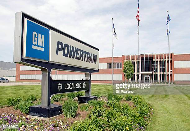 General Motors UAW Local 909 headquarters is shown at the GM Powertrain Plant May 29 2008 in Warren Michigan GM announced today that a quarter of its...