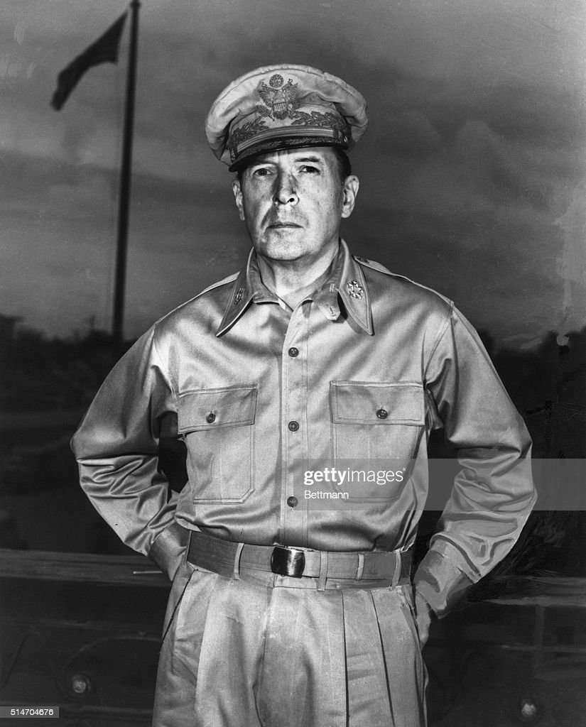 . General of Army Douglas MacArthur.