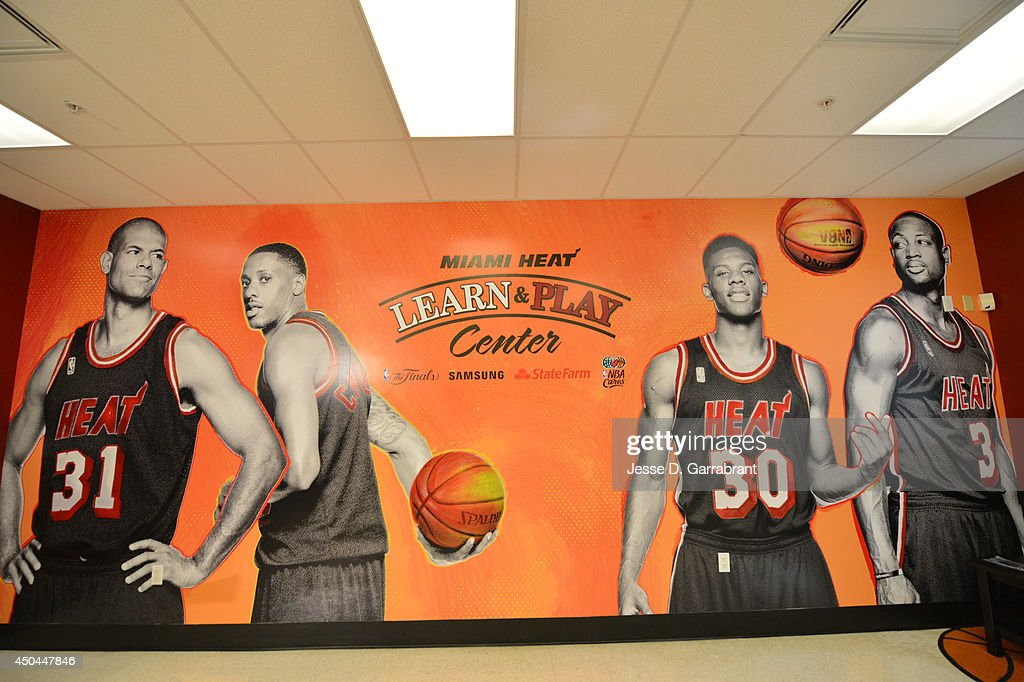 A general overall view of the 2014 NBA Finals Legacy Project as part of the 2014 NBA Finals on June 11, 2014 at the Little Haiti Cultural Complex in Miami, Florida.
