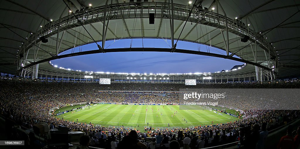 A general overview during the International Friendly match between Brazil and England at Maracana on June 2 2013 in Rio de Janeiro Brazil