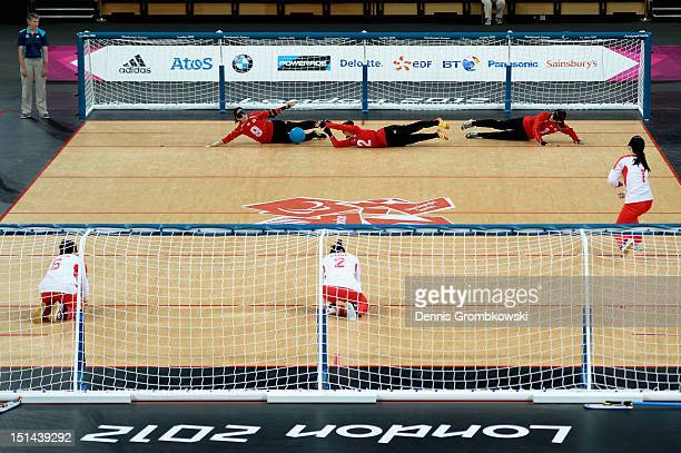 A general overview is pictured during the Women's Team Goalball Gold Medal match between China and Japan on day 9 of the London 2012 Paralympic Games...