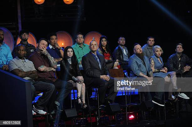 A general overview of Spike TV's 'Ink Master' Season 4 LIVE Finale at SIR Stage 37 on May 20 2014 in New York City