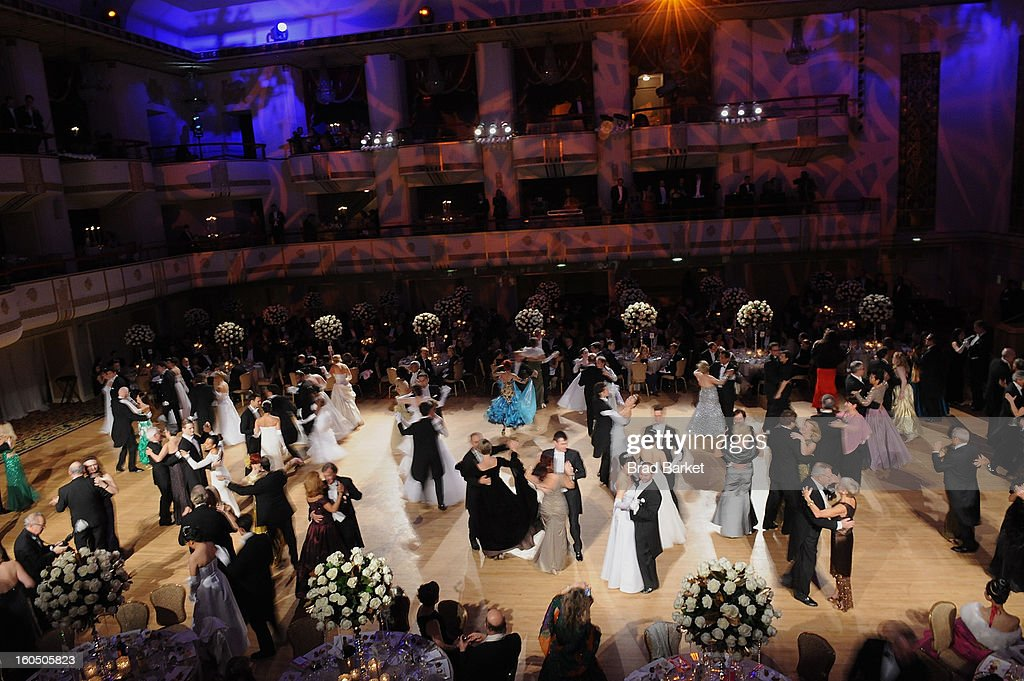 A general overview of The 58th Annual Viennese Opera Ball at The Waldorf=Astoria on February 1, 2013 in New York City.