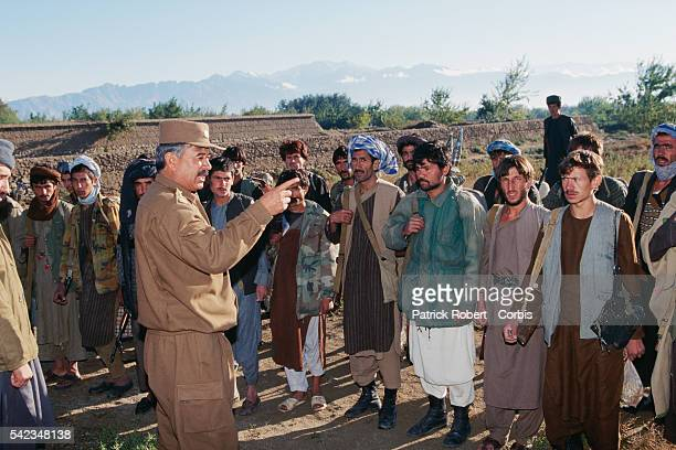 General Ruzi and his troops in Bagram after Ahmad Shah Massoud's mujahideen captured the city from the Taliban Bagram is located about 60 kilometers...