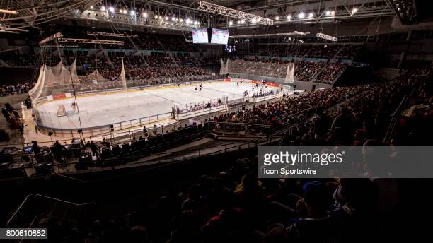 General Scene of hisence arena during the Melbourne Game of the Ice Hockey Classic on June 24 2017 held at Hisence Arena Melbourne Australia