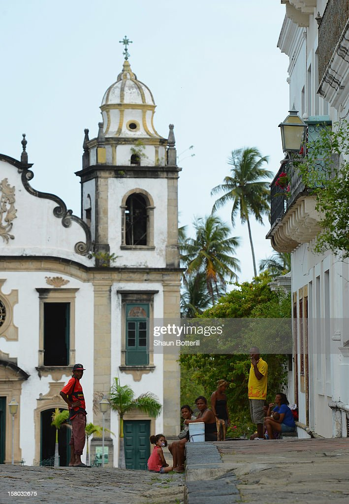 General scene on December 9, 2012 in Olinda, Brazil.