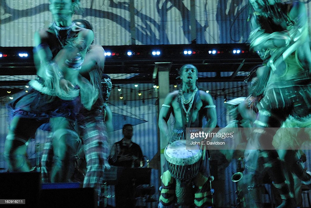 General scenes of the musical 'Fela!' Opening Night at The Fox Theatre on February 28, 2013 in Atlanta, Georgia.