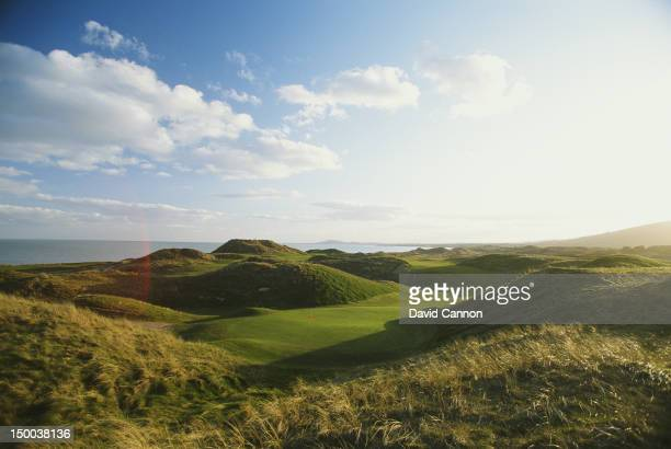 General scenic view from the European Club course on 1st August 1990 at the European Golf Club in Brittas Bay County Wicklow Ireland
