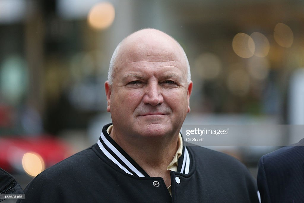 General Secretary <a gi-track='captionPersonalityLinkClicked' href=/galleries/search?phrase=Bob+Crow+-+Trade+Unionist&family=editorial&specificpeople=2222559 ng-click='$event.stopPropagation()'>Bob Crow</a> joins campaign groups protesting outside Oxford Circus tube station against plans to reduce staff on transport routes across the Capital on October 23, 2013 in London, England. The proposed changes include the closure of London Underground ticket offices and the removal of guards on London Overground trains.