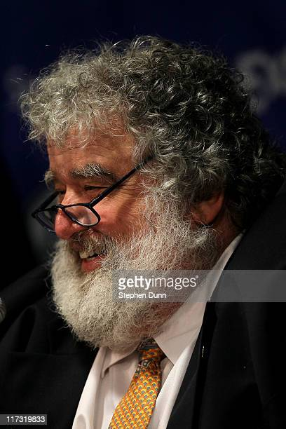 General Secretary of CONCACAF Chuck Blazer gives a press conference before the game between Mexico and the United States for the 2011 CONCACAF Gold...