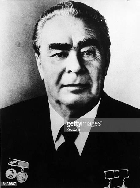 General Secretary of the Soviet Communist Party Leonid Ilyich Brezhnev