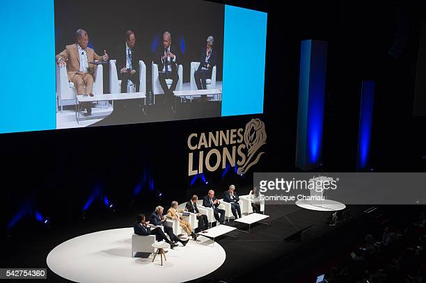 General Secretary of the United Nation Ban KiMoon attends The Cannes Lions 2016 on June 24 2016 in Cannes France