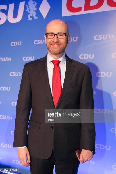 General Secretary Peter Tauber attends the future and joint presidency meeting of the CDU and CSU during the second day of a twoday meeting between...