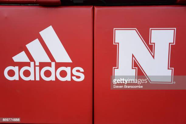 General signage for the Nebraska Cornhuskers before the game against the Wisconsin Badgers at Memorial Stadium on October 7 2017 in Lincoln Nebraska
