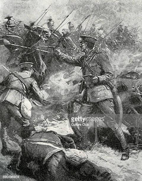 General Sir HoraceSmith Dorrien at the Battle of Cateau France 26th August 1914 British soldier 26 May 1858 Ð 12 August 1930