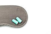 General solution for sleep disorder, eye shade, ear plugs and sleeping pills