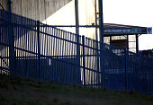 A general stadium view at Boundary Park on January 8 2015 in Oldham England