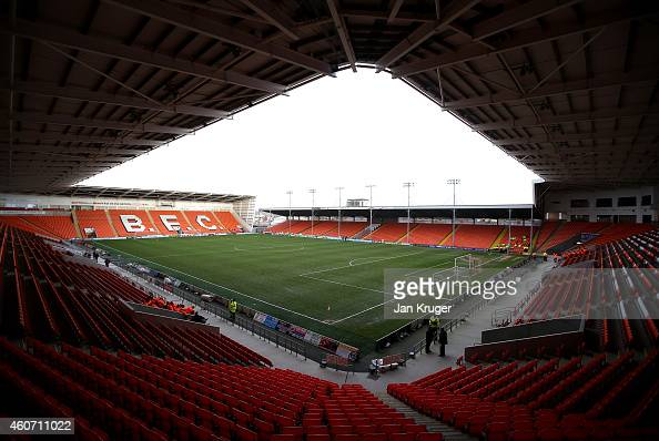 General stadium view prior the Sky Bet Championship match between Blackpool and Bournemouth at Bloomfield Road on December 20 2014 in Blackpool...