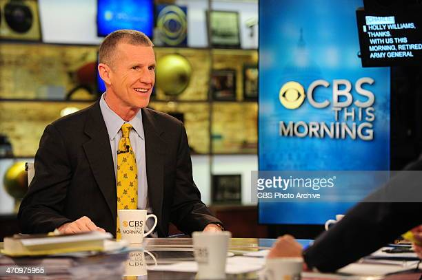 General Stanley McChrystal Author of 'My Share of the Task A Memoir' on CBS This Morning on Friday Feb 21 2014 on the CBS Television Network