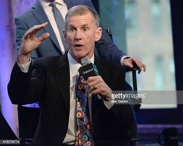 General Stanley McChrystal speaks at AOL Build at AOL Studios In New York on May 14 2015 in New York City