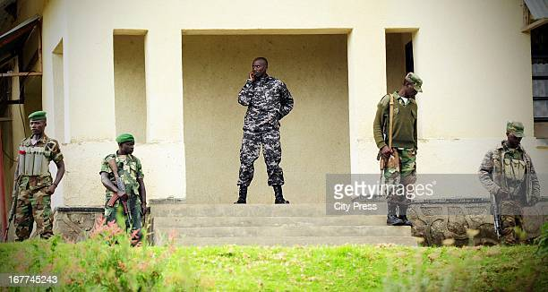 M23 General Sultani Makenga on April 27 in Rutshuru Democratic Republic of the Congo The group is strengthening its tactics following a resolution by...