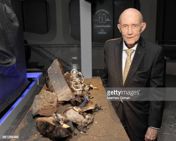 General Tom P Stafford attends the OMEGA Speedmaster 60th Anniversary cocktail event on May 9 2017 in New York City Photo by Matthew Eisman/Getty...