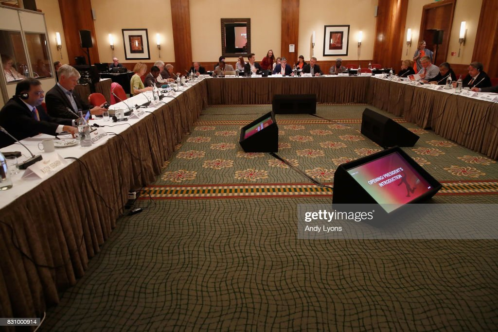 A general vies of 211th IAAF Council Meeting on August 13, 2017 in London, England.