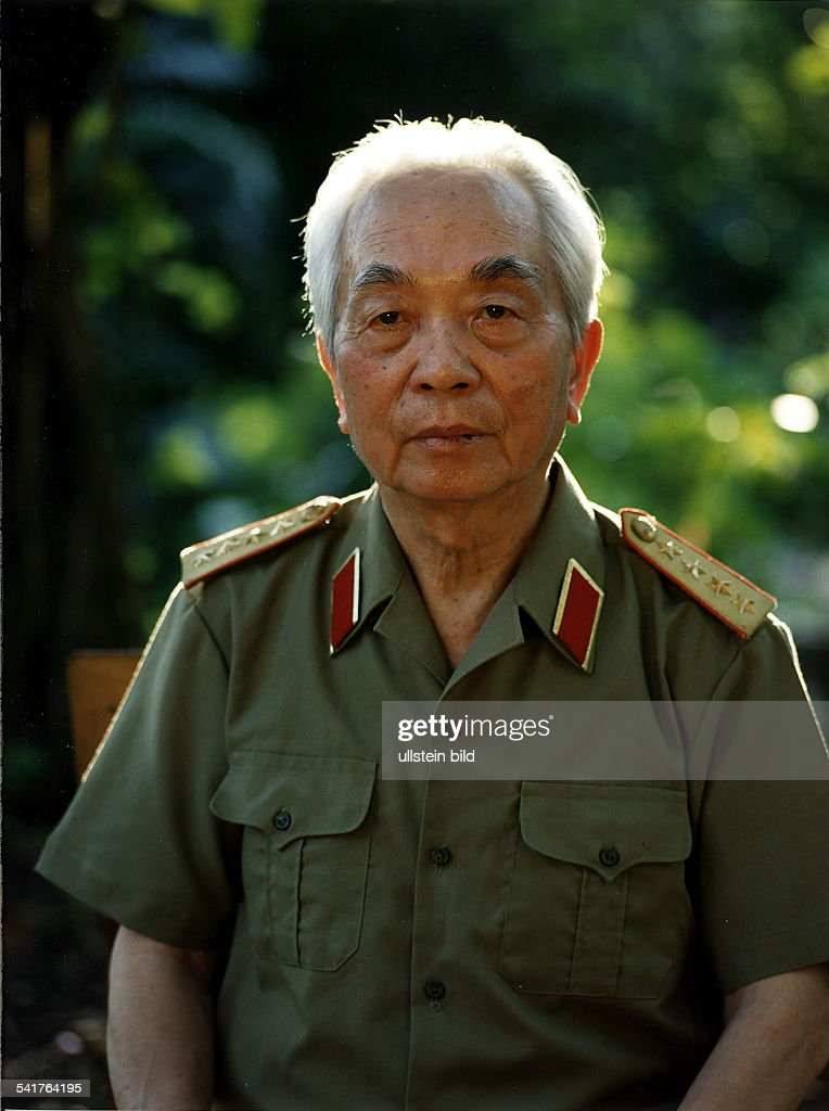 General, VietnamPorträt in Uniform- Mai 1995