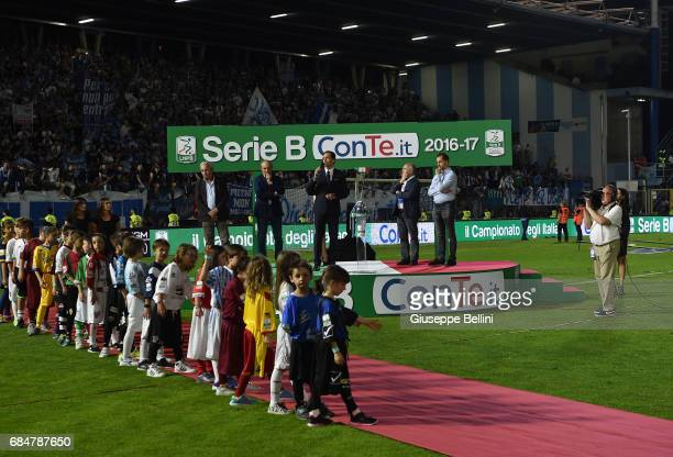 General view after the Serie B match between SPAL and FC Bari at Stadio Paolo Mazza on May 18 2017 in Ferrara Italy