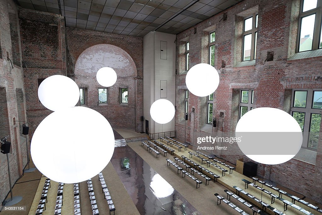 General view ahaed of the Dorothee Schumacher show during the Mercedes-Benz Fashion Week Berlin Spring/Summer 2017 at Elisabethkirche on June 29, 2016 in Berlin, Germany.