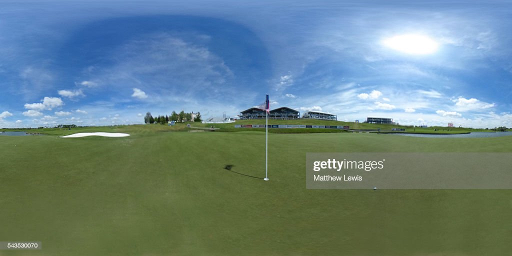 General view ahead of the 100th Open de France at Le Golf National on June 29, 2016 in Paris, France.