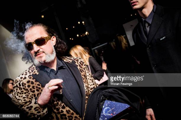 A general view ahead of the DolceGabbana Show during Milan Fashion Week Fall/Winter 2017/18 on February 26 2017 in Milan Italy
