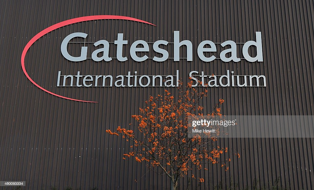 A general view ahead of the FA Cup Second Round tie between Gateshead FC v and Warrington Town on December 7 2014 in Gateshead England