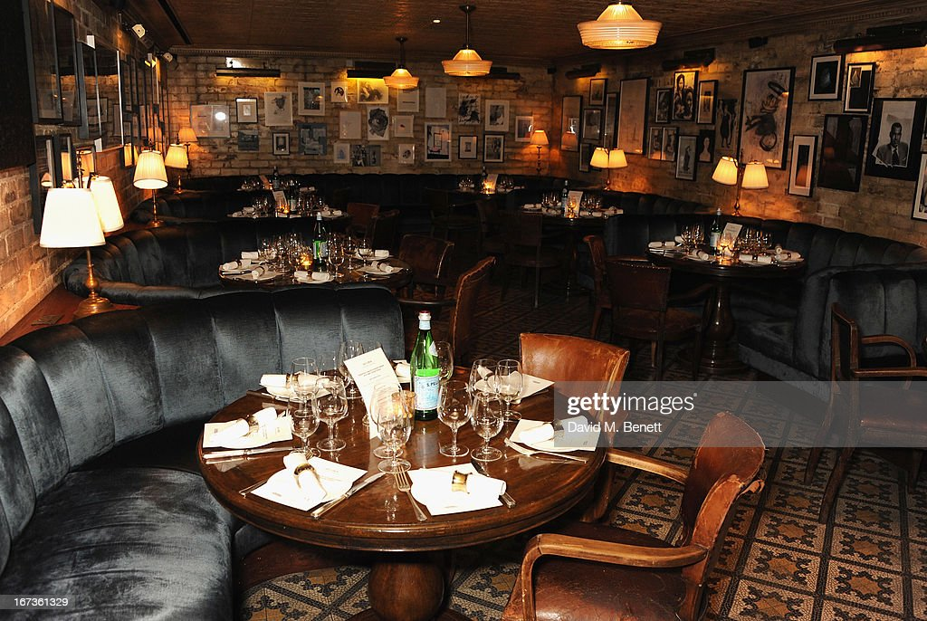 A general view ahead of the Grey Goose hosted Sundance London Filmmaker Dinner at Little House on April 24, 2013 in London, England.