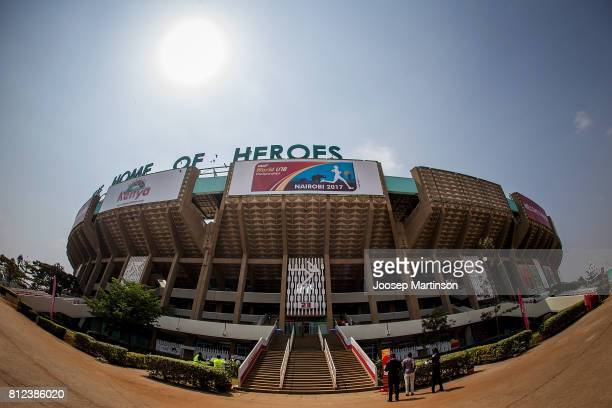 A general view ahead of the IAAF U18 World Championships at Moi International Sports Centre on July 11 2017 in Nairobi Kenya