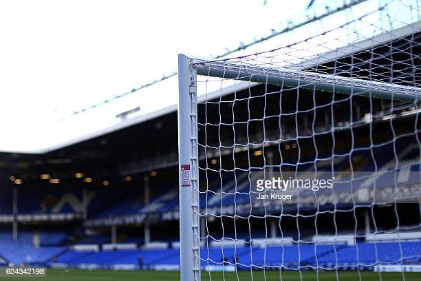 A general view ahead of the Premier League match between Everton and Swansea City at Goodison Park on November 19 2016 in Liverpool England