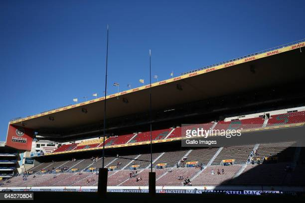 General view ahead of the Super Rugby match between DHL Stormers and Vodacom Bulls at DHL Newlands on February 25 2017 in Cape Town South Africa