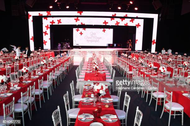 A general view ahead the 69th Monaco Red Cross Ball Gala at Sporting MonteCarlo on July 28 2017 in MonteCarlo Monaco